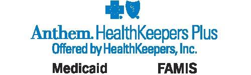 Anthem HealthKeepers Plus Logo McaidFAMIS promo logo 2.5 x .75 color_no phoneREV